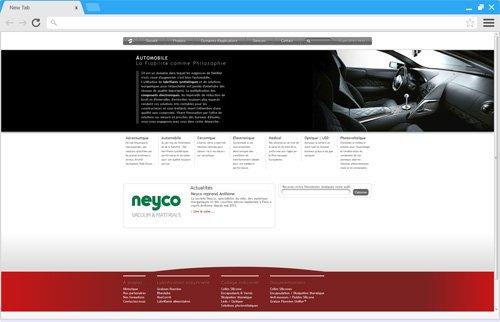 Création site internet corporate