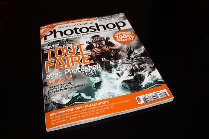 Création de tutoriel dans le Magazine Advanced Création Hors-Série 09