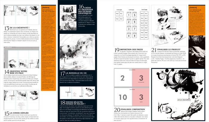 """Tutoriel """"Création d'une pochette de CD"""" - Magazine Book Of Creation Hors-Série 1"""