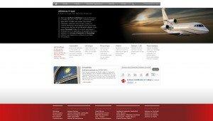 Visuel de la page d'accueil du site Anthone.fr