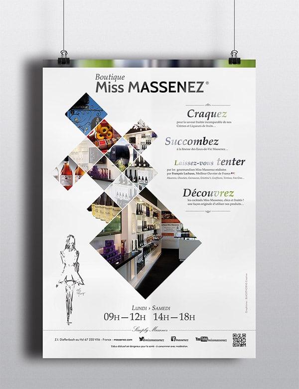 Création affiche Massenez