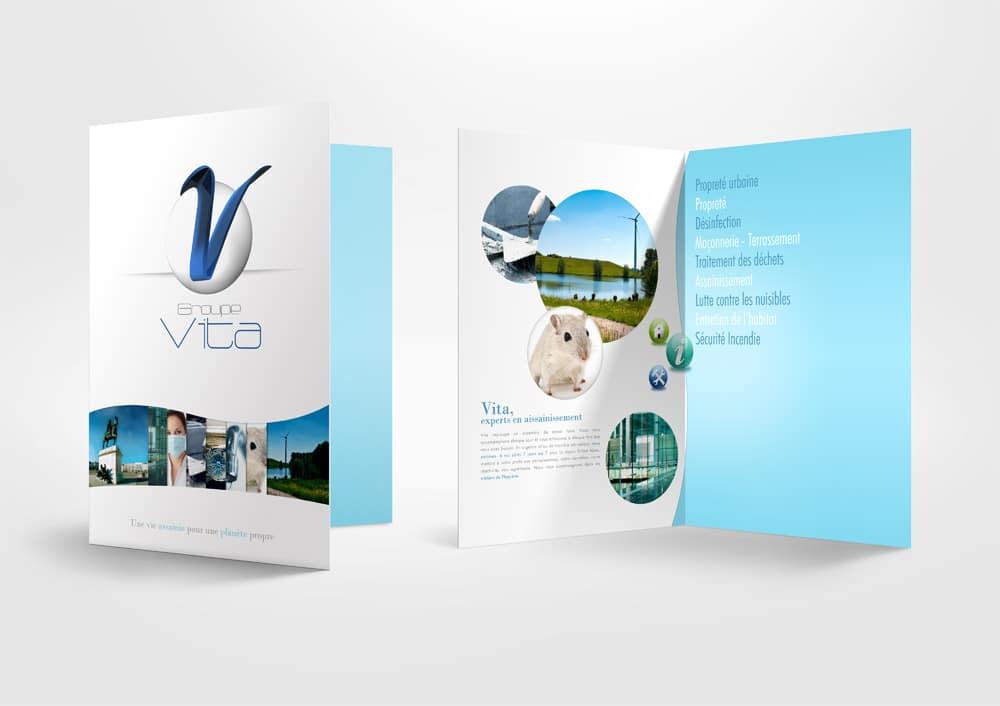 Création d'une brochure 4 pages