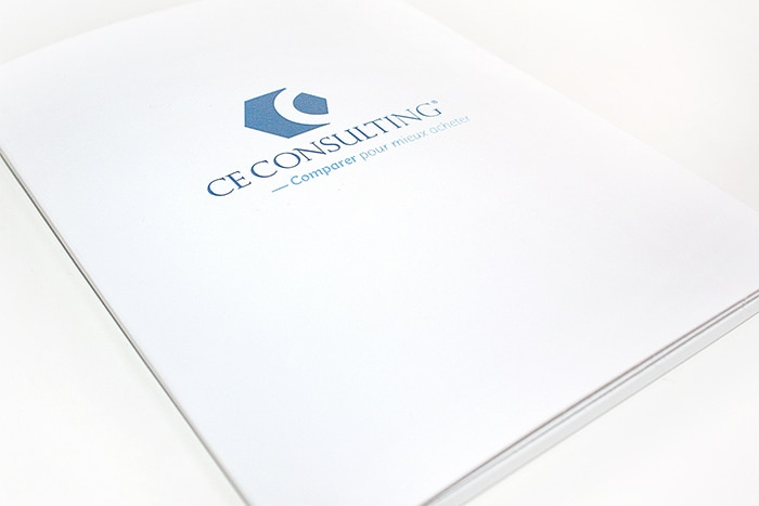 Branding design - packaging CE Consulting