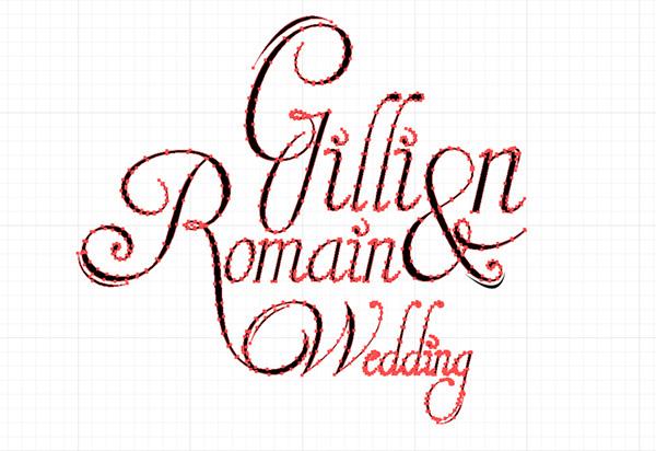 Création typographique vectorielle