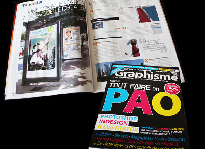 "Tutoriel ""Une communication décalée"" - Magazine Advanced Creation Hors-Série 12"