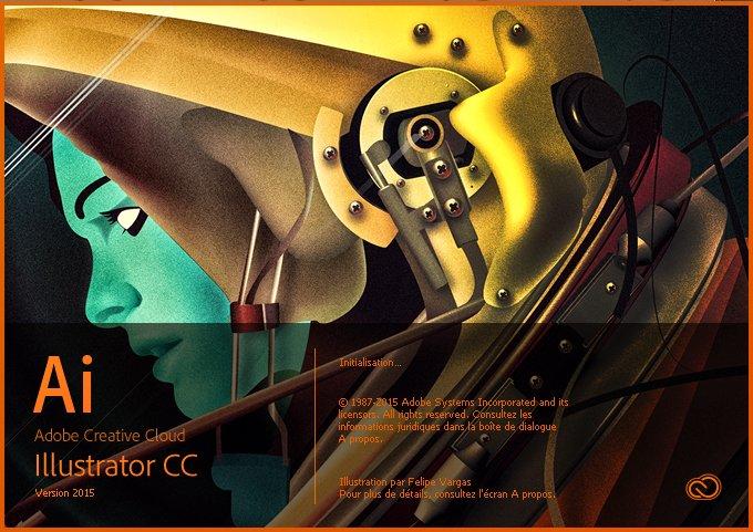 Popup ouverture Illustrator CC 2015