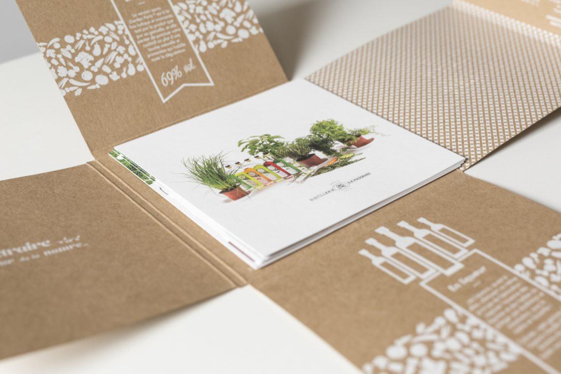 Brochure craft avec feuillets