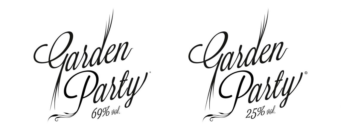 Logotype Garden Party