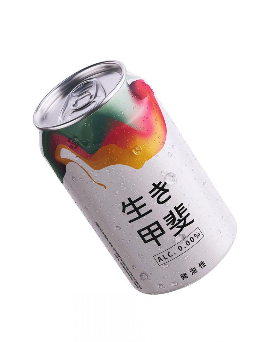 Bière japonaise sans alcool 330 ml