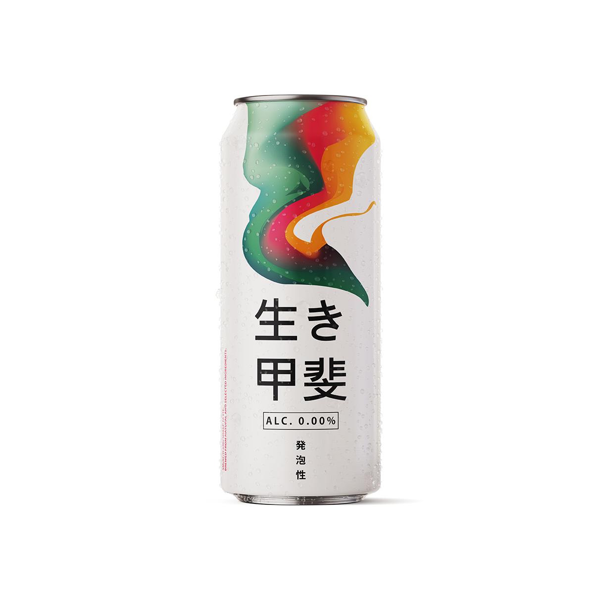 Bière japonaise sans alcool 500 ml