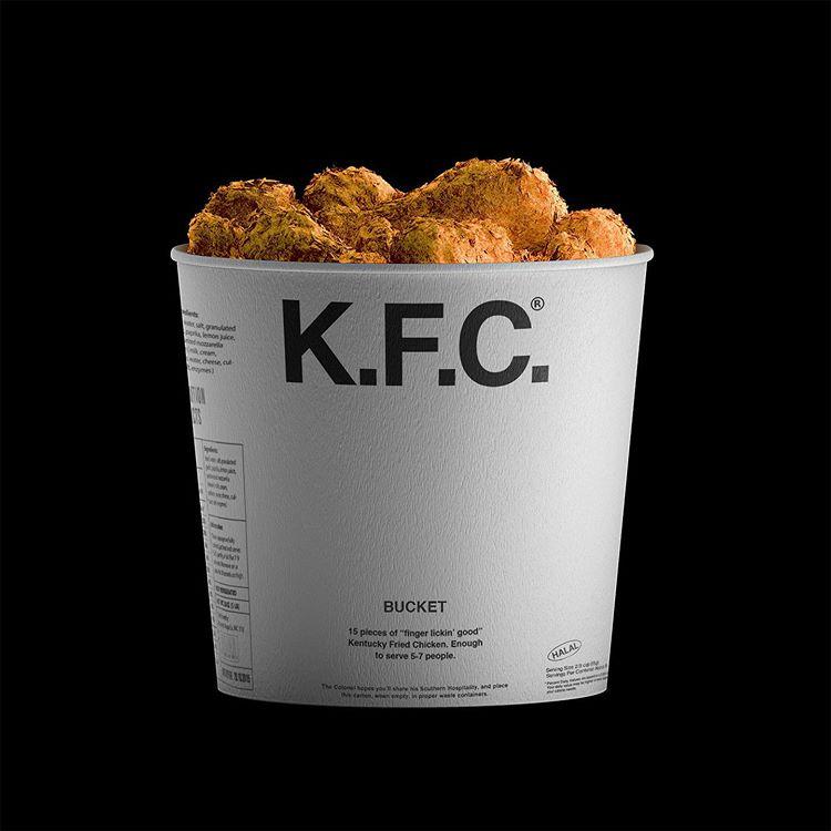 Packaging KFC