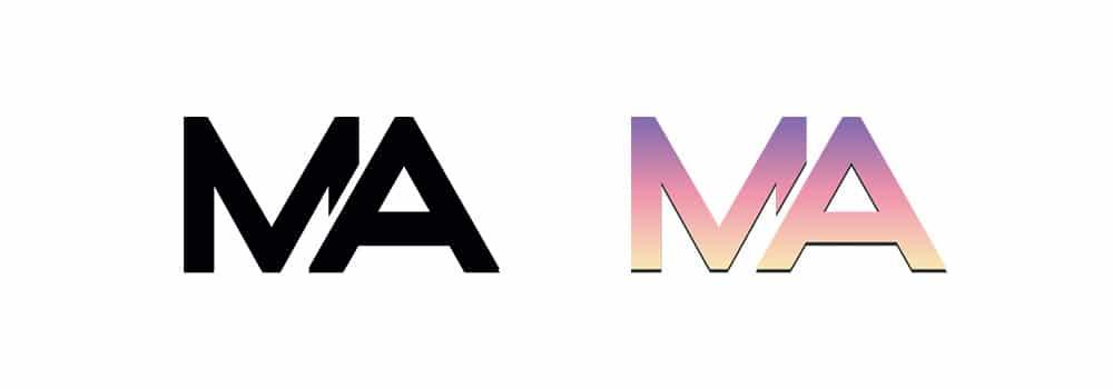 Design graphique mariage - Logotype