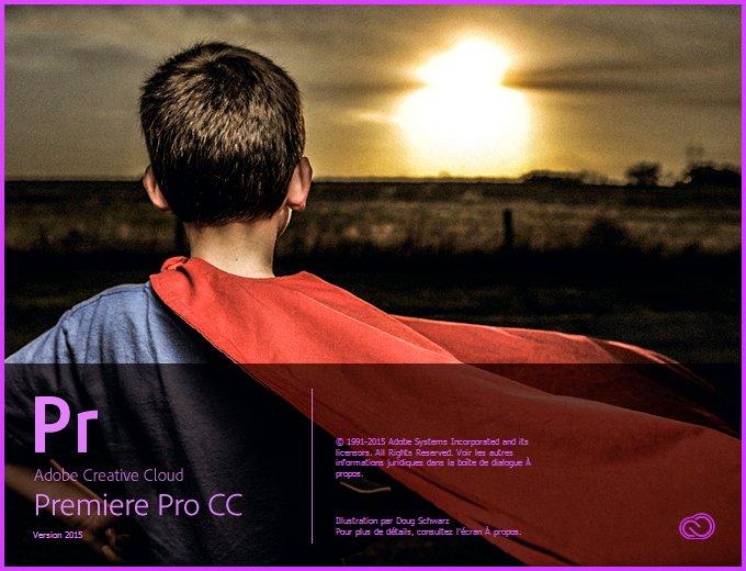 Popup ouverture Premiere Pro CC 2015