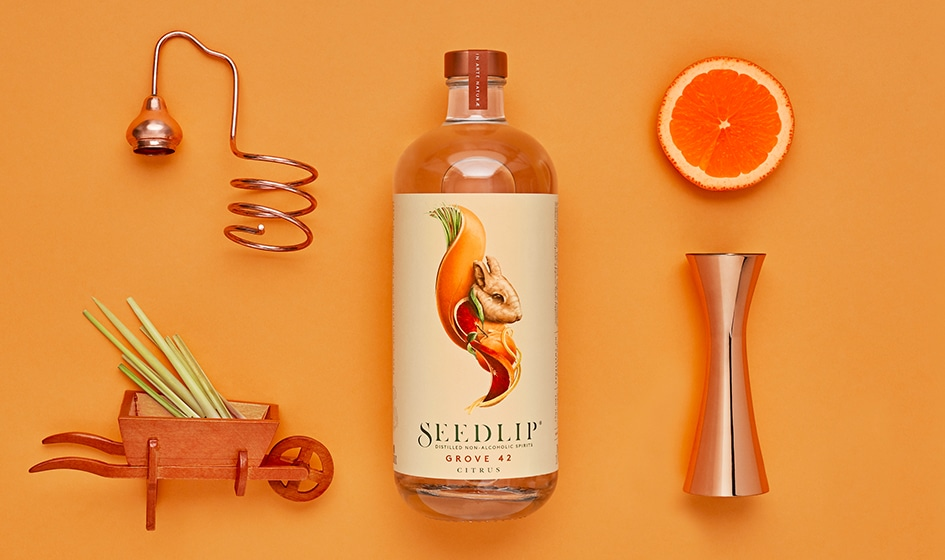 Label design Seedlip