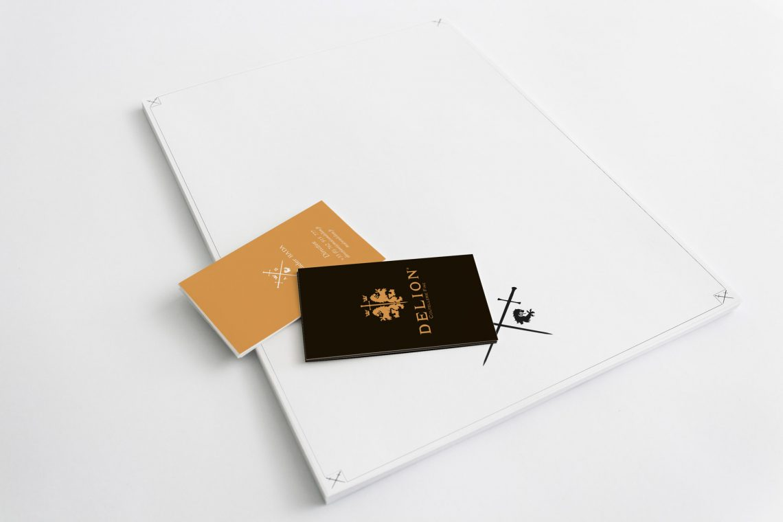 Tête de lettre Delion - branding