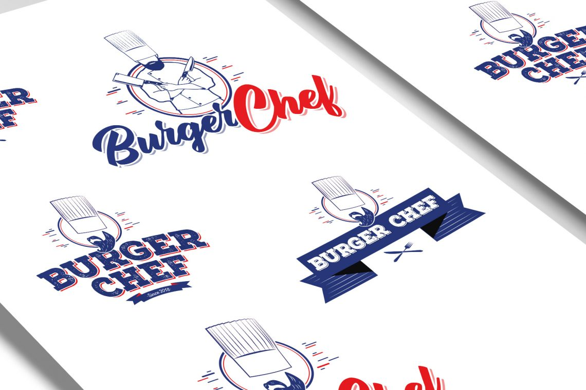Branding design Burger Chef