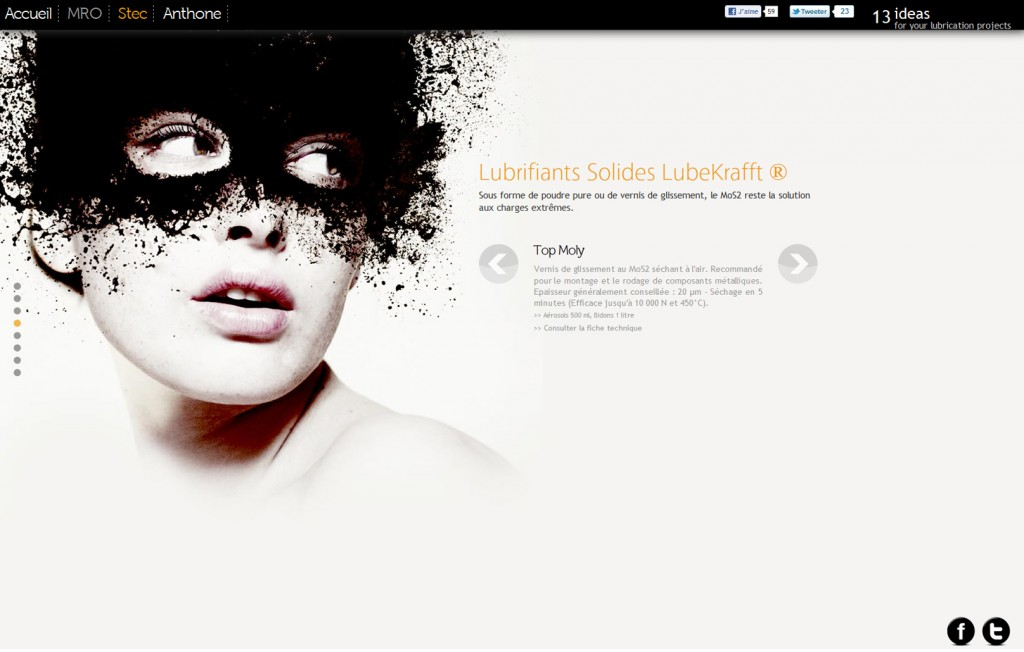 Webdesign d'un site Internet HTML5