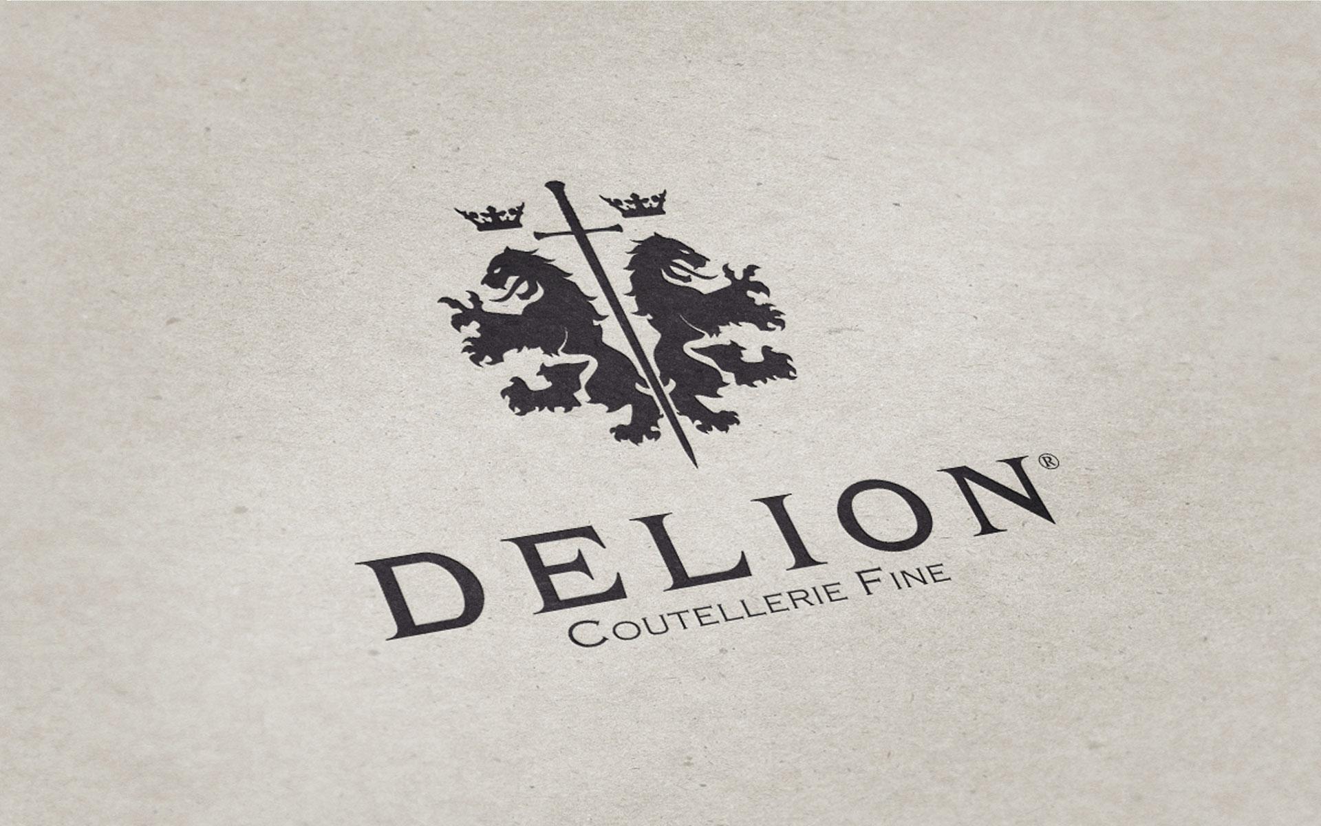 Identité visuelle Logo Delion