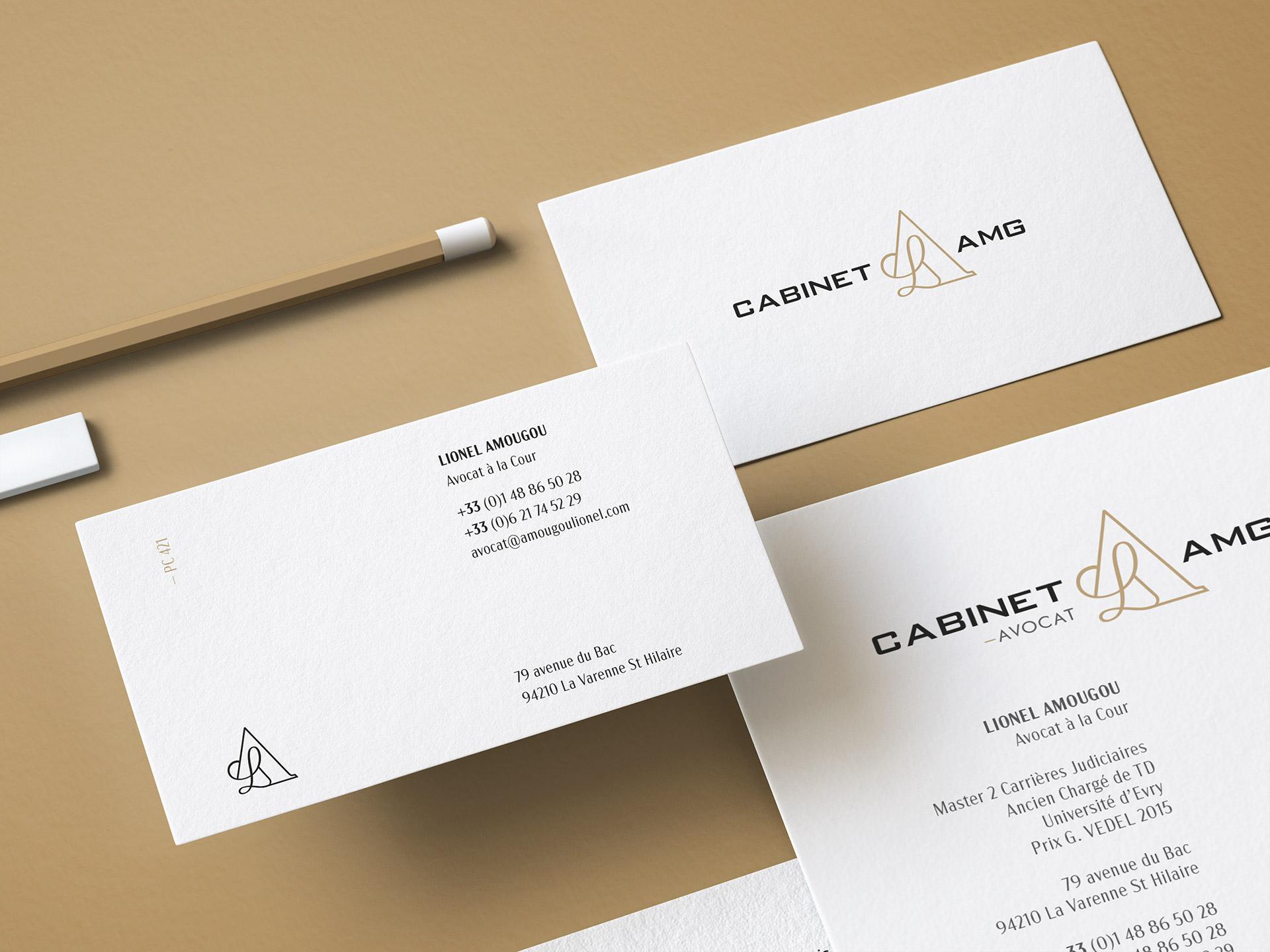 Stratégie de communication visuelle du Cabinet AMG