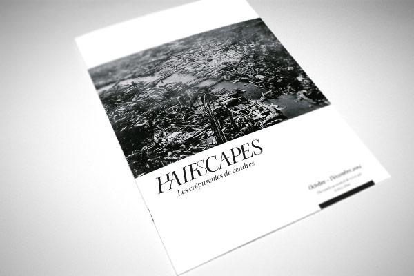 Conception graphique d'une brochure Hairscapes