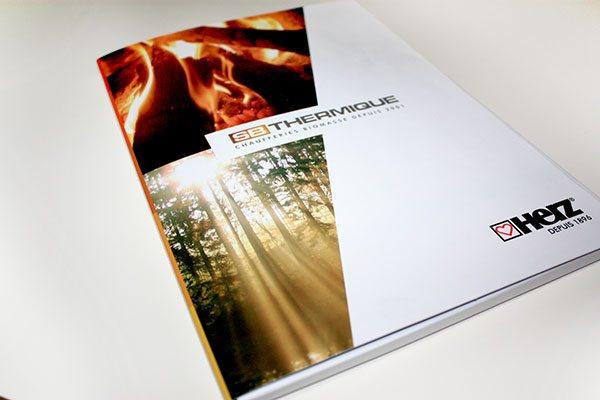 Communication print - chemise à rabats SB Thermique