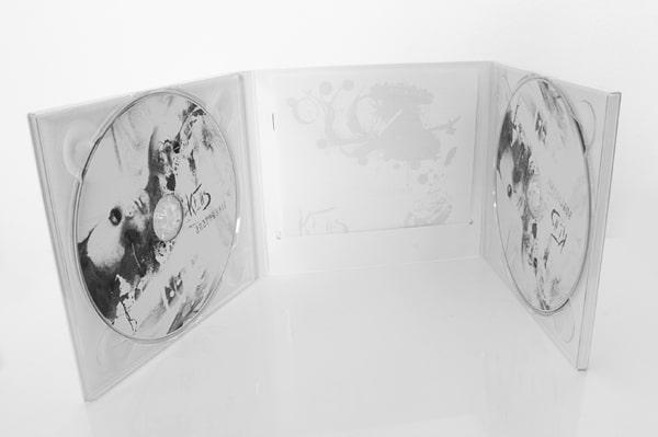 Création artwork digipack