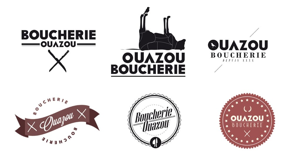 Ébauches de logotypes