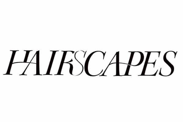Création du logotype du projet d'art Hairscapes