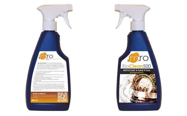 Création de packaging pour la marque MRO