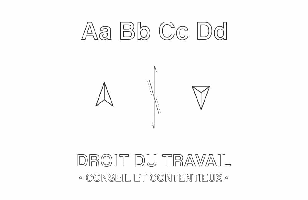 Identité visuelle Mathieu Pastène, Avocat