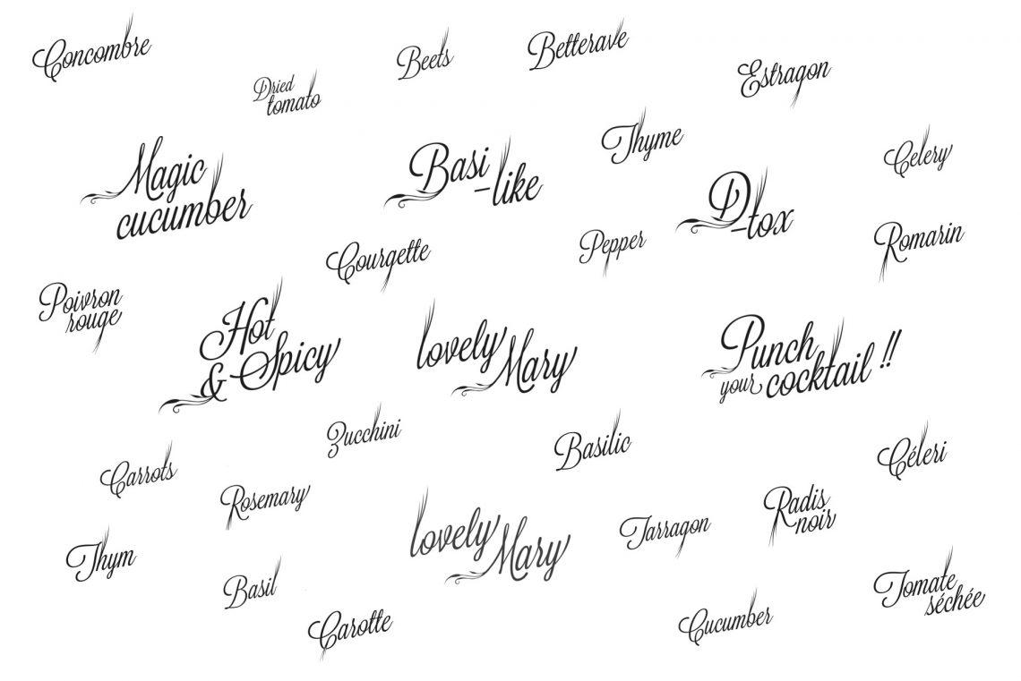 Identité visuelle parfums