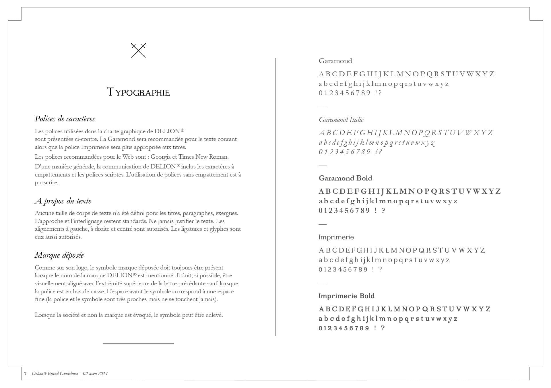 Identité visuelle et typographique