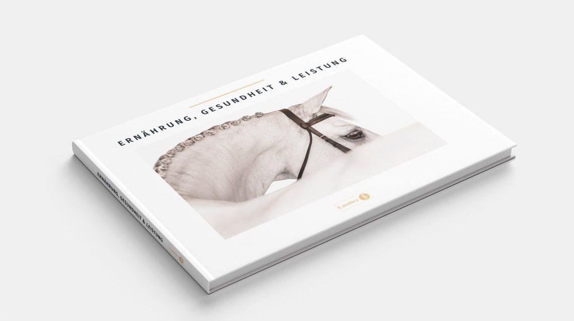 Réalisation design graphique livre équitation scientifique version allemand