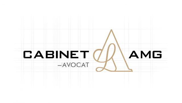 Construction du logo Cabinet AMG