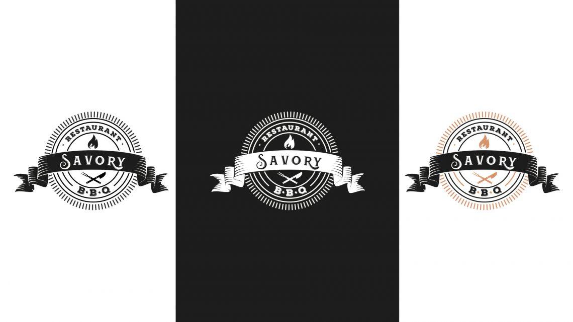 Logos et déclinaisons Savory