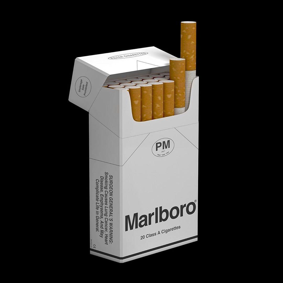Packaging Marlboro