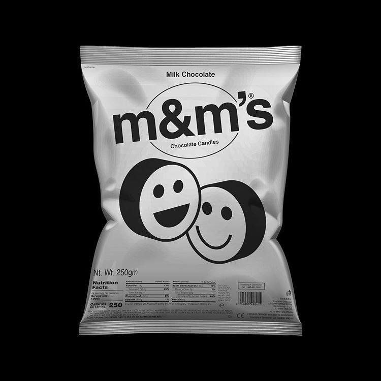 Packaging M&Ms