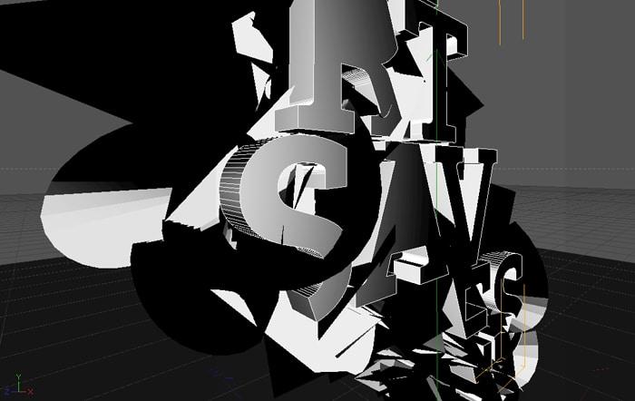Création digitale sur Cinema 4D