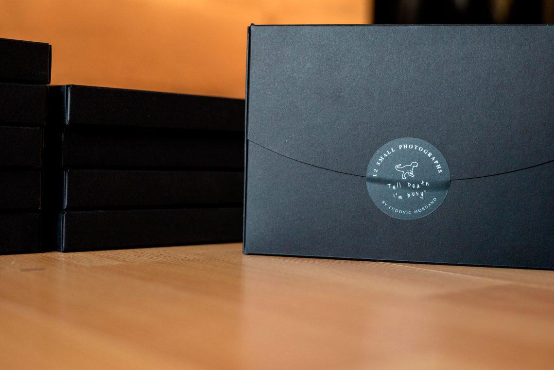 packaging mini box photo noir