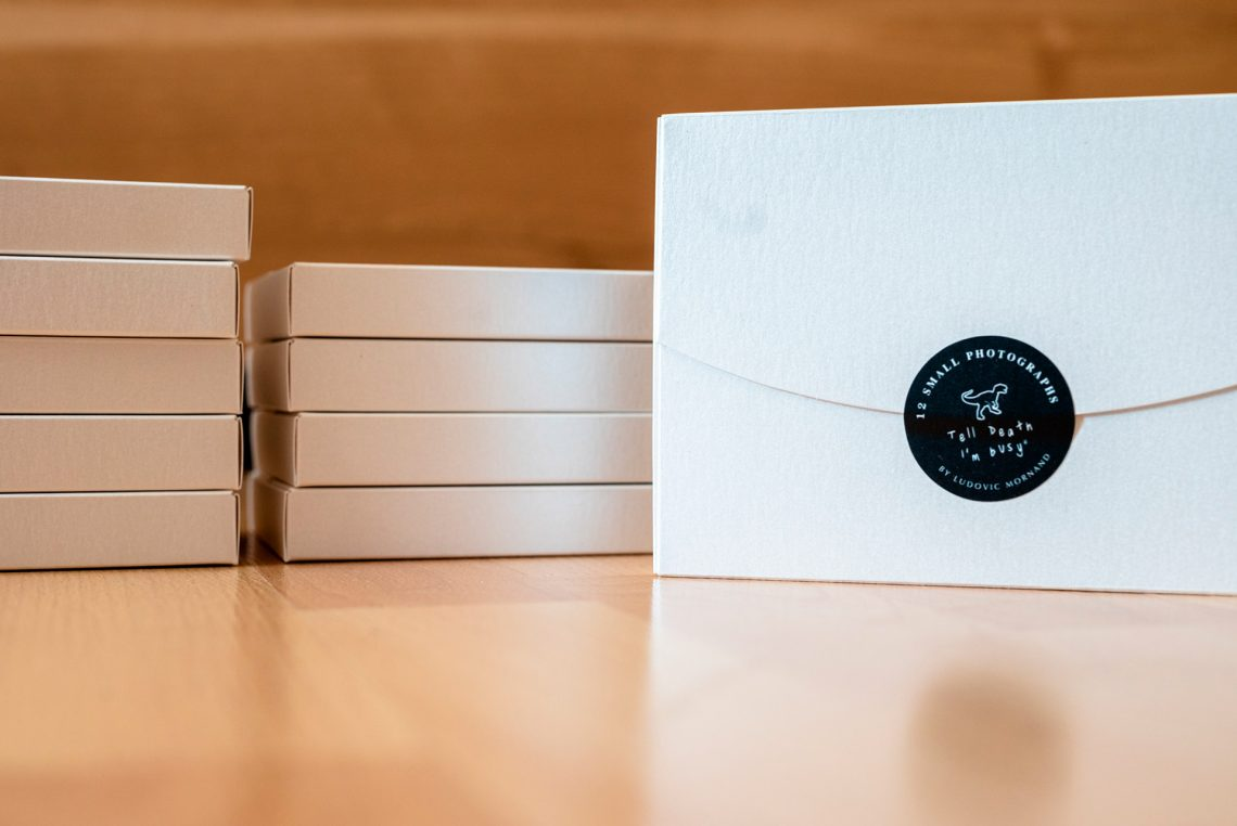packaging mini box photo blanc