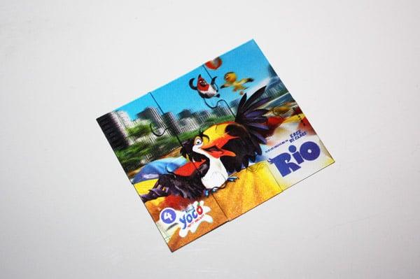 Puzzle 3D objet publicitaire