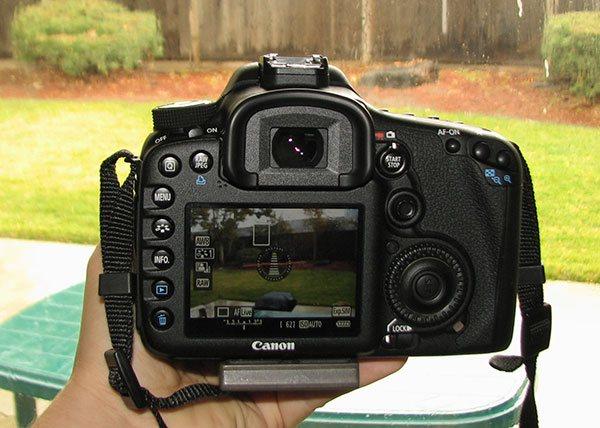 shooter avec un canon 7d