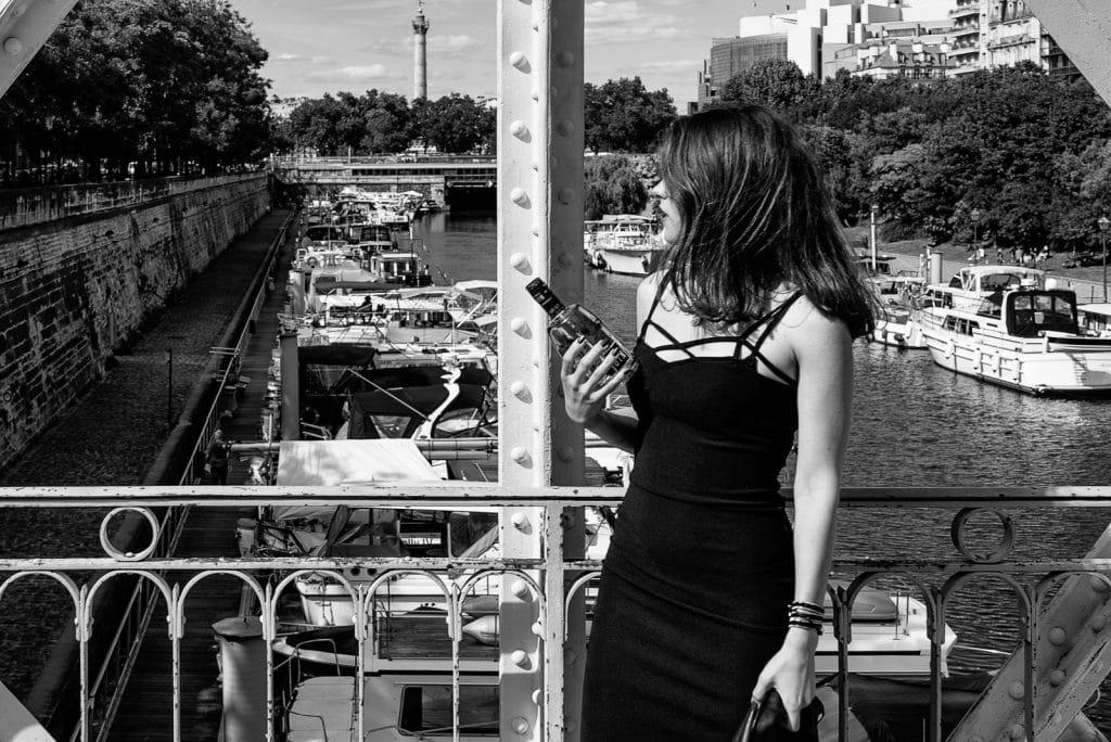 shooting Lifestyle Paris - Pvrple Gin®