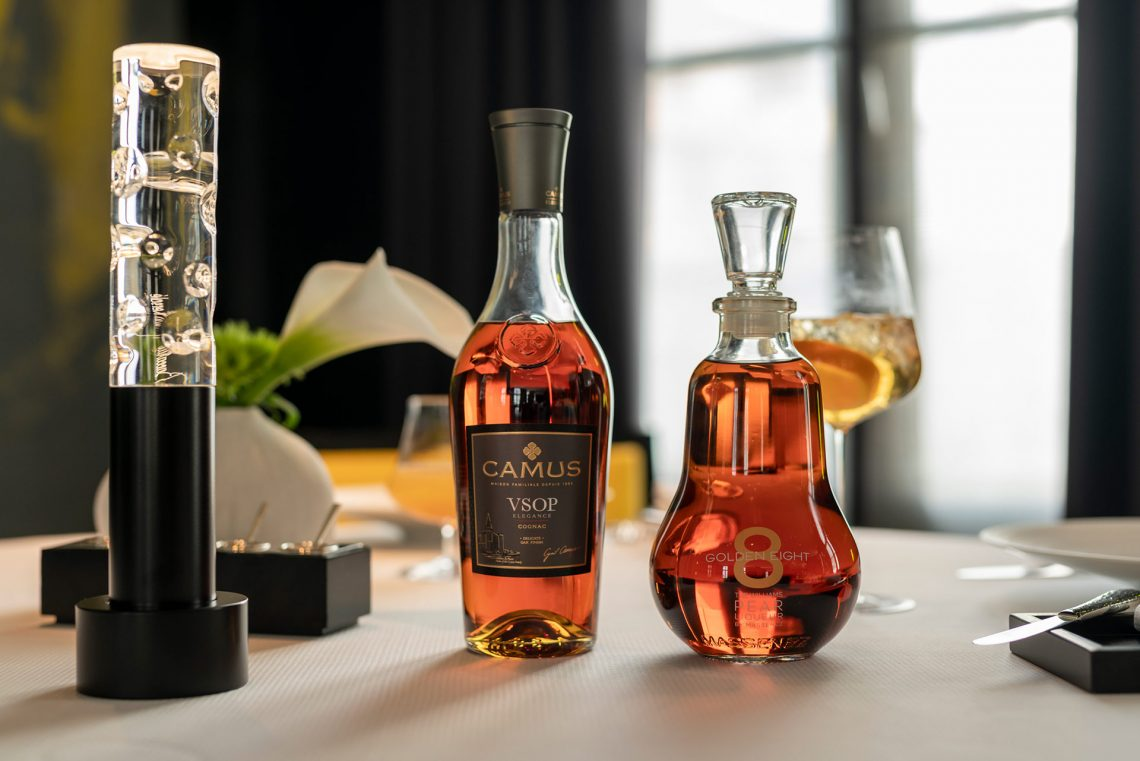Golden Eight et Cognac Camus