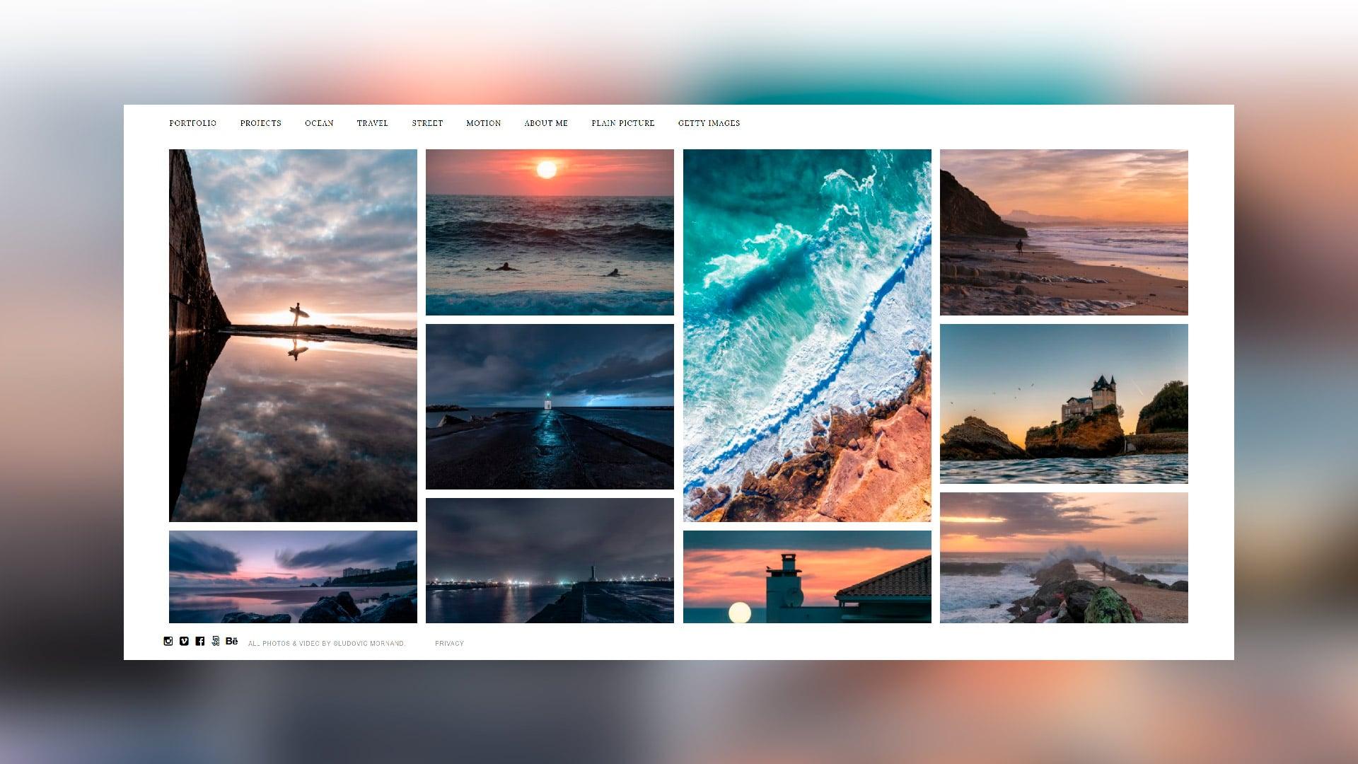 Site Internet Photographe