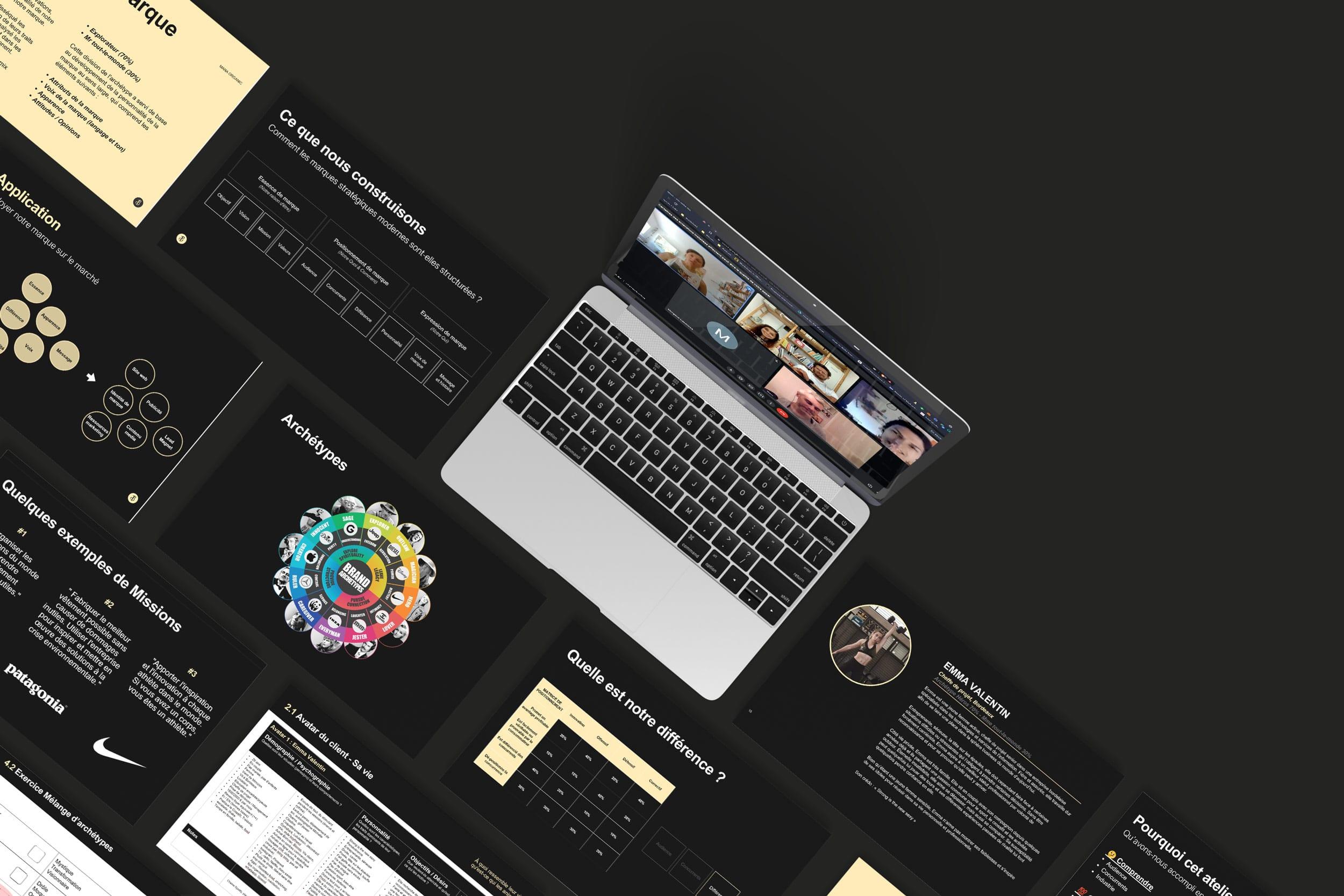 Workshop Intensif sur Zoom, stratégie de marque